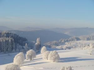 Winterlandschaft Saig